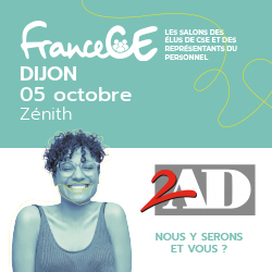 2AD au salon CE de Dijon le mardi 5 Octobre prochain