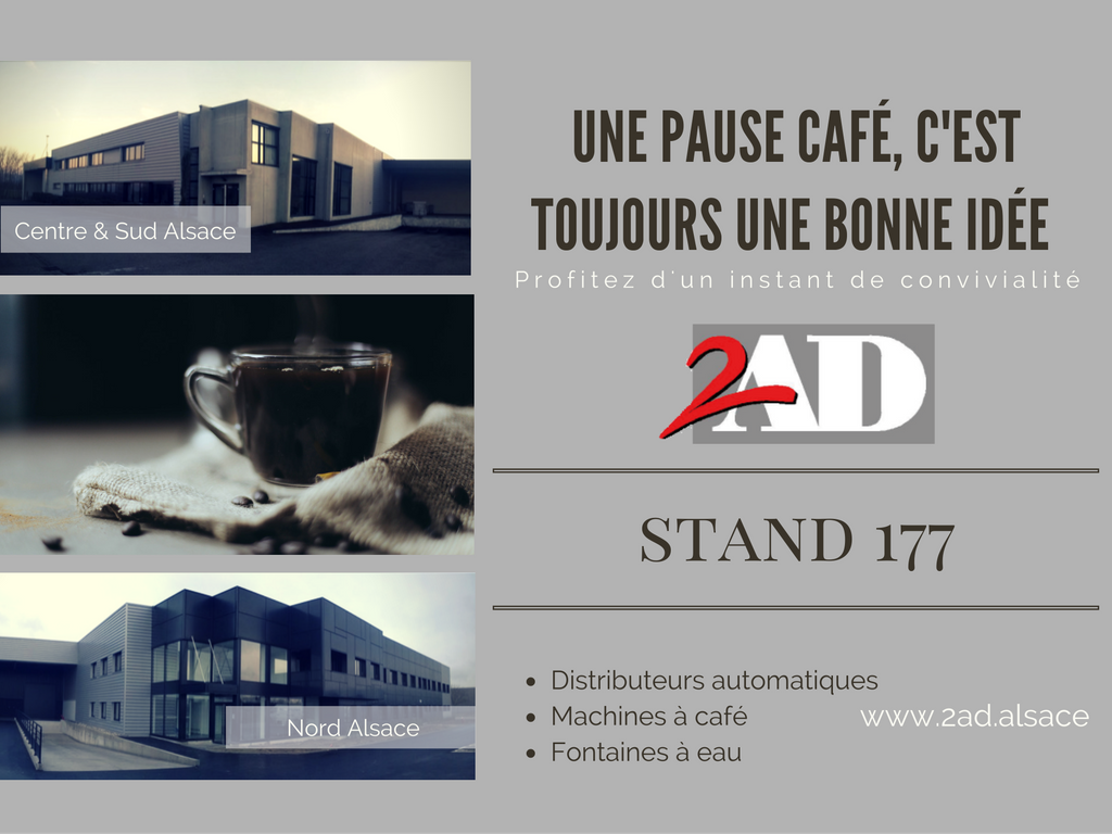 2ad distribution automatique au salon Inovia
